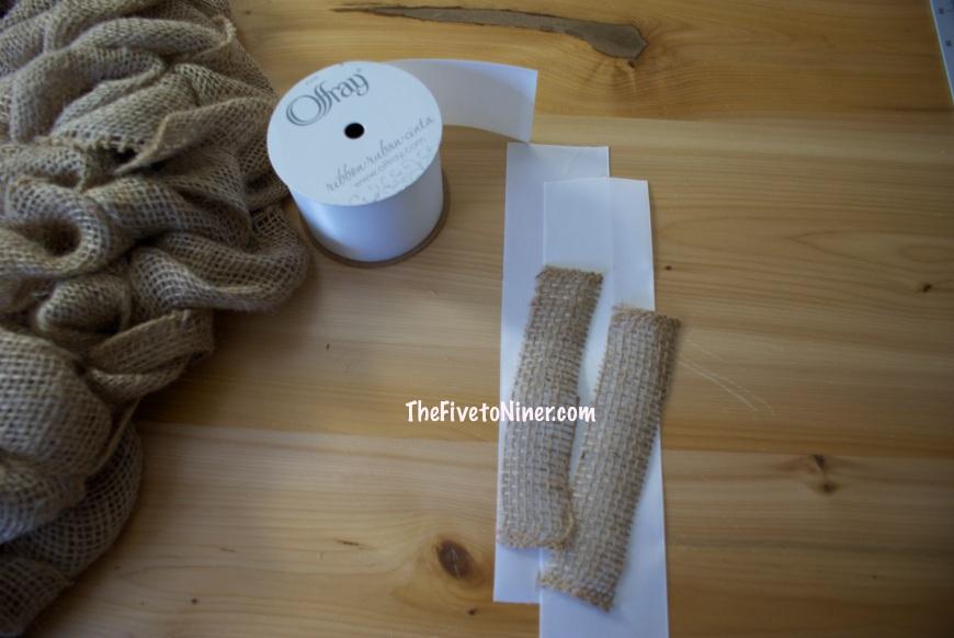 step 19 Attach to cut ribbon