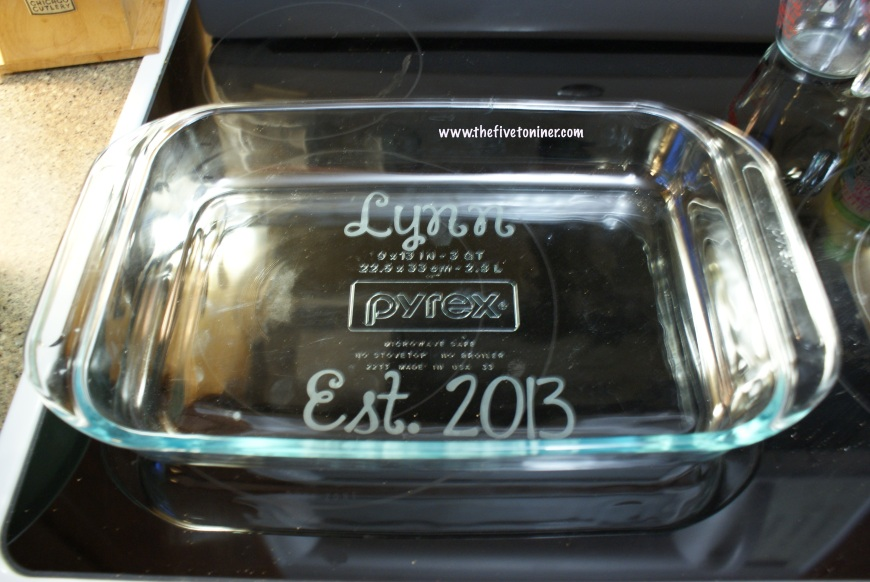 Glass Etching using my Silhouette Cameo...blog post coming soon!!!